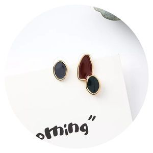 • NOW AVAILABLE! • Enamel Mismatch Studs •
